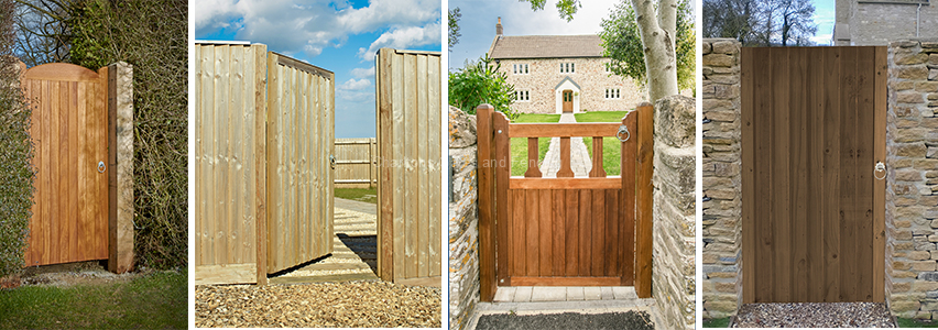 Quality wooden gates