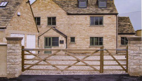 Pair of Somerset 5 Bar Gates