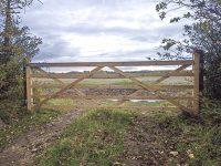 Forester 5 bar gate field gate