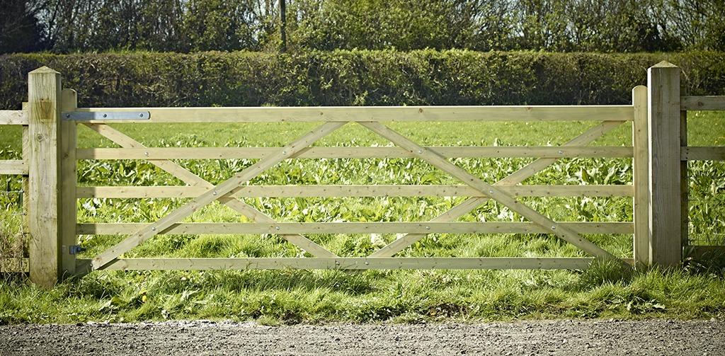 Highgrove Universal 5 Bar field gate