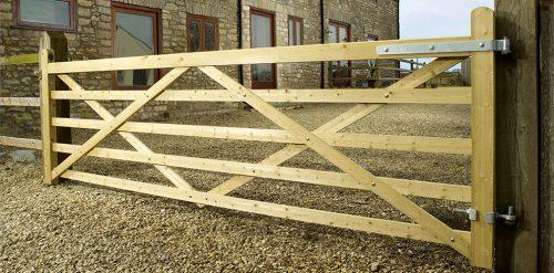 Highgrove 5 Bar entrance gate