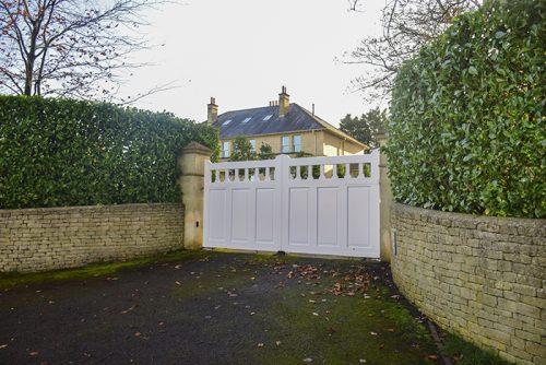Hilton driveway gate