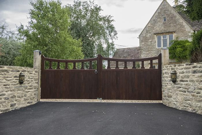 Mells driveway gate