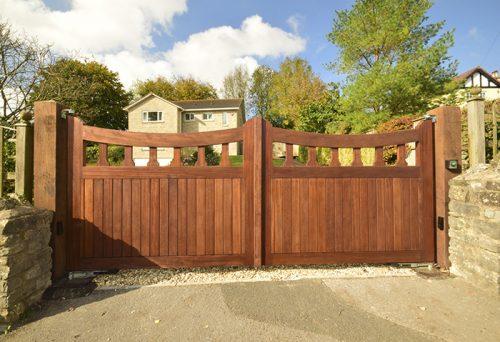 Mells driveway gates