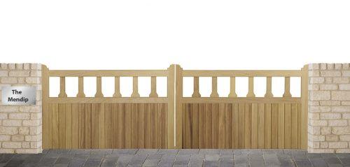 Mendip Driveway gates