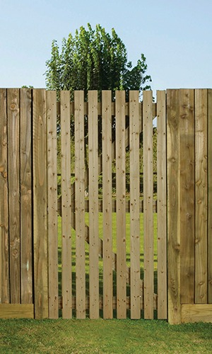 Orchard Flat Slatted gate