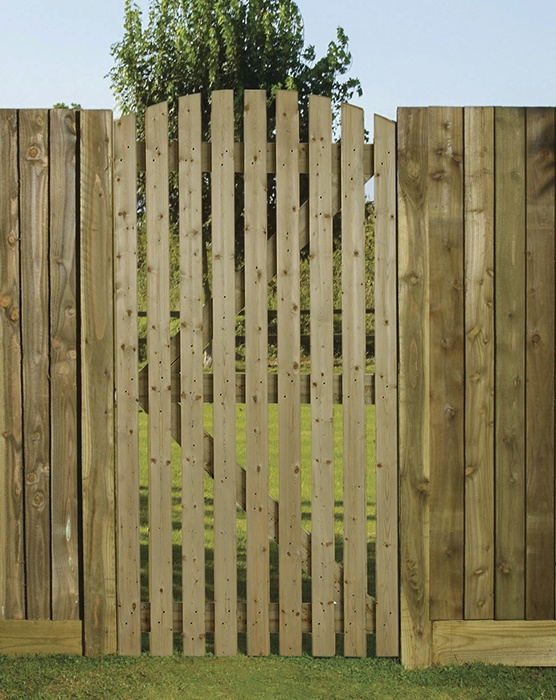 Orchard Curved side gate