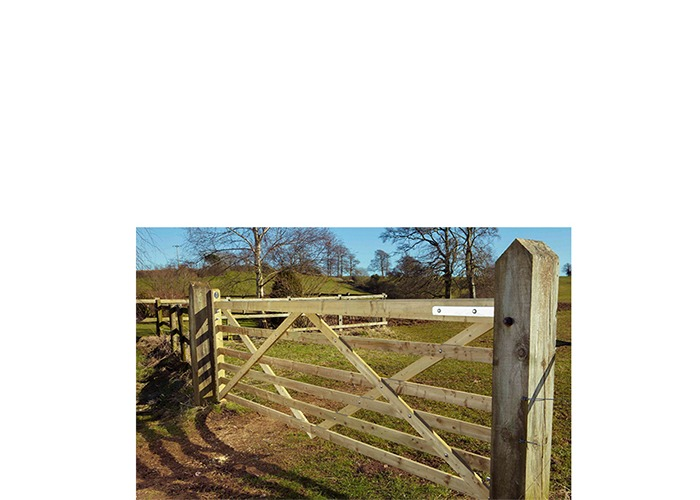 Somerfield 6 Bar Gate Charltons Gates And Fencing