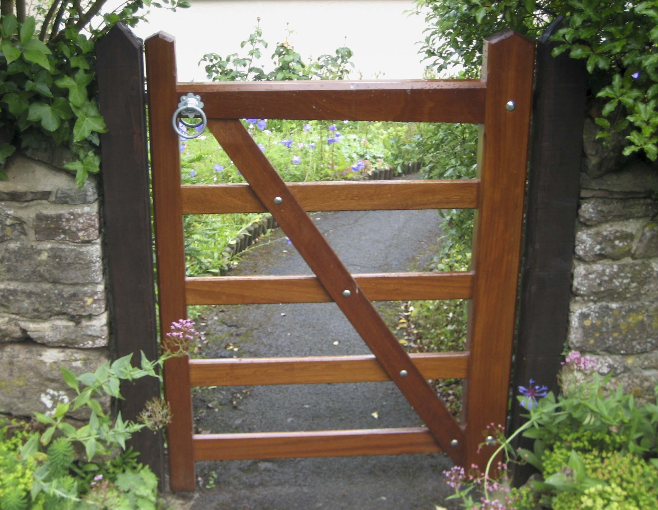 Someset garden gate