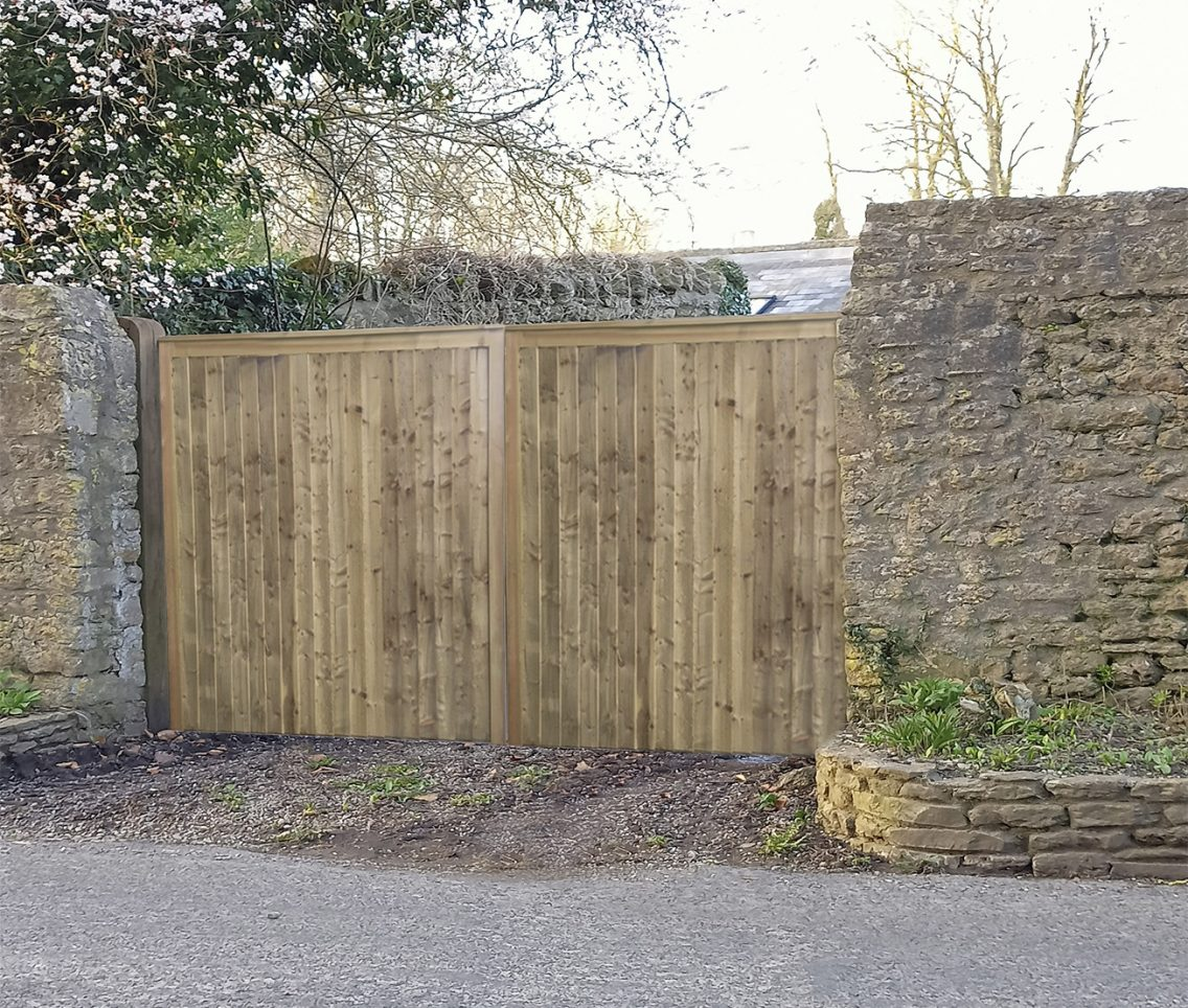 Special width Country gate