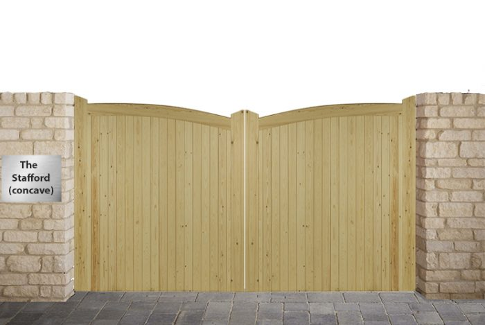 Stafford Driveway gates (concave)
