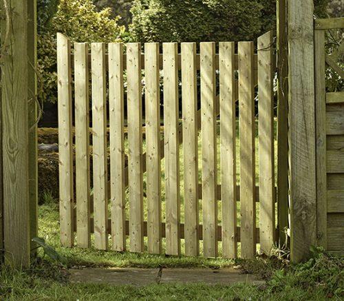 Wicket Garden gate