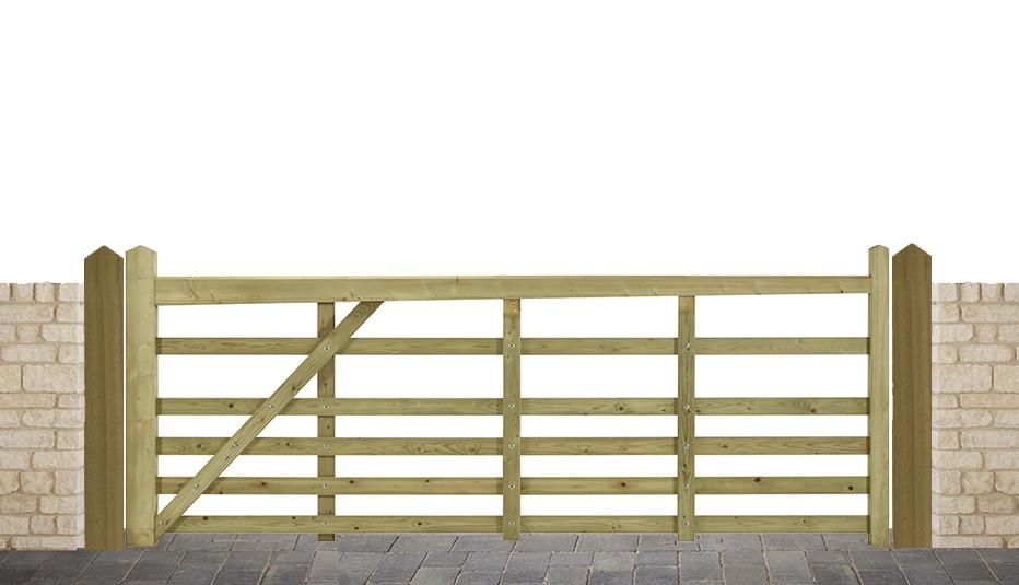 Image showing a Windsor 5 bar gate