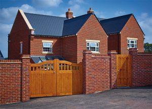 Softwood Beckington gates