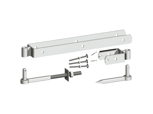Adjustable Field Gate Hinge Set