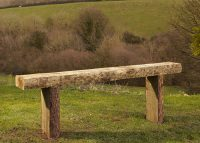 Charltons Rustic Sleeper bench