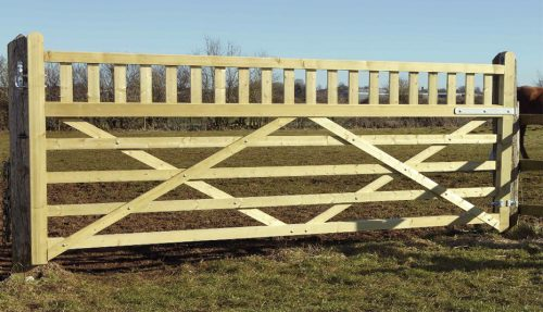 Equestrian 5 Bar gate