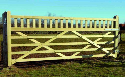 Equestrian Field gate