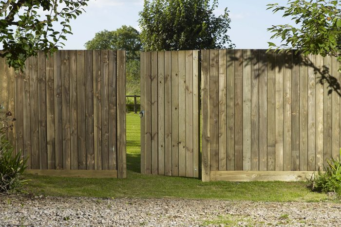 Gravel Boards Charltons Gates And Fencing