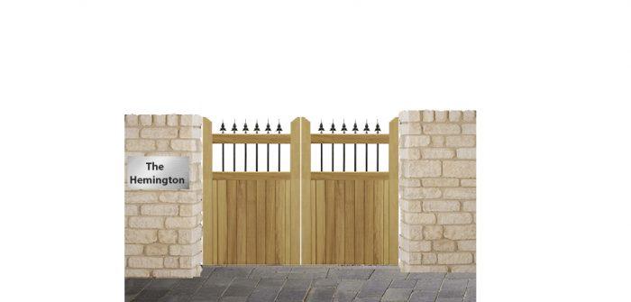 Hemington Driveway gates