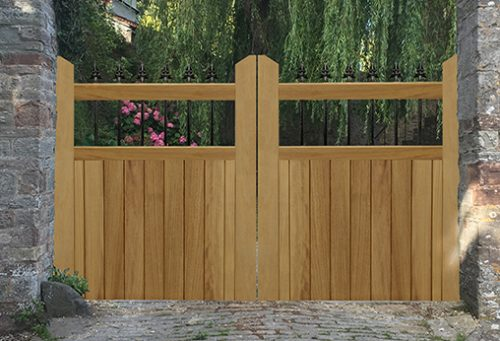 Hemington driveway gate