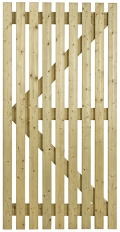 Orchard Flat Wooden Side Gate