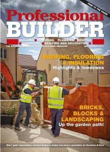 Front cover Professional builders Merchants