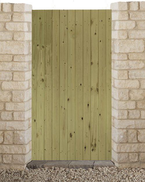 Priory Flat side gate