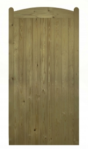 framed, ledged and braced morticed pressure treated softwood side gate