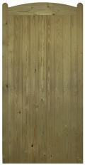 Wellow Tall Wooden Side Gate