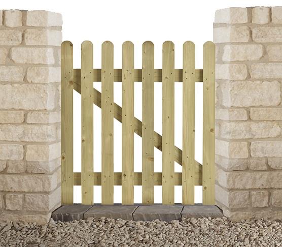 Henley garden gate