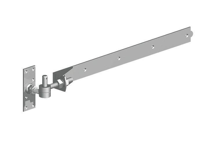 2 way adjustable gate hinge