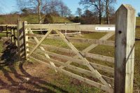 Somefield 6 Bar Field gate