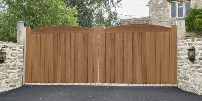 Cameo driveway gates