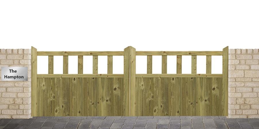 Hampton Driveway gates