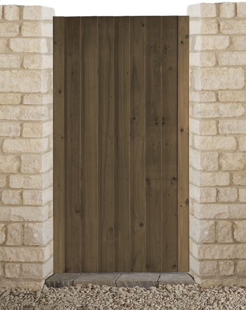 Babington Brown side gate