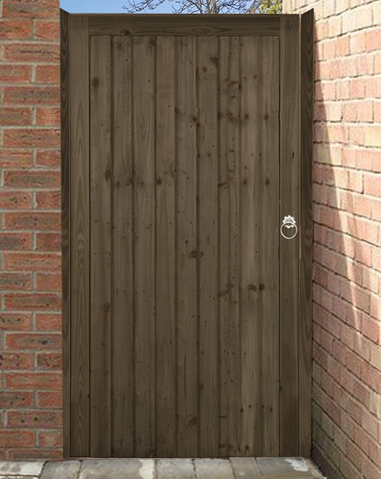 Country Brown side gate