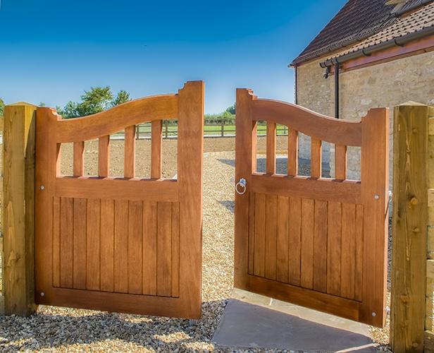 Beckington garden gate