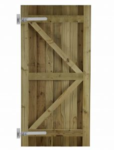 babington design pressure treated softwood garden gate with hinges
