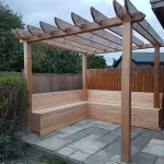 PERGOLA MADE WITH CHARLTONS WOOD
