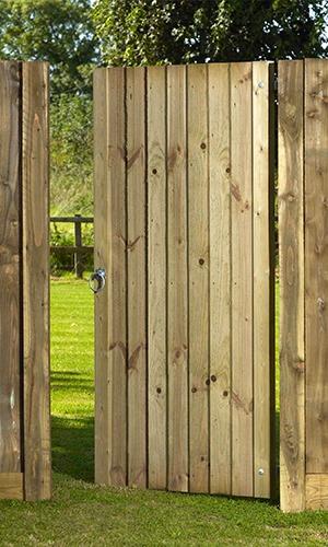 Babington garden gate