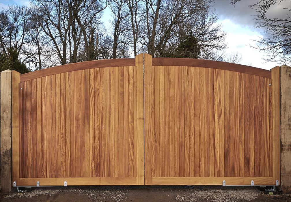 Stafford driveway gate