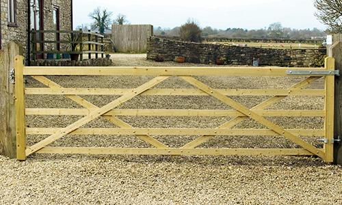 Highgrove entrance gate