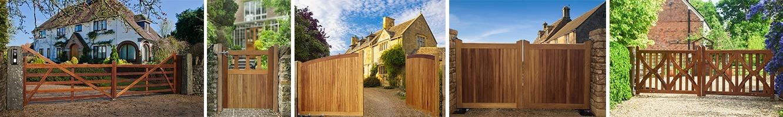 Charltons quality wooden driveway gates