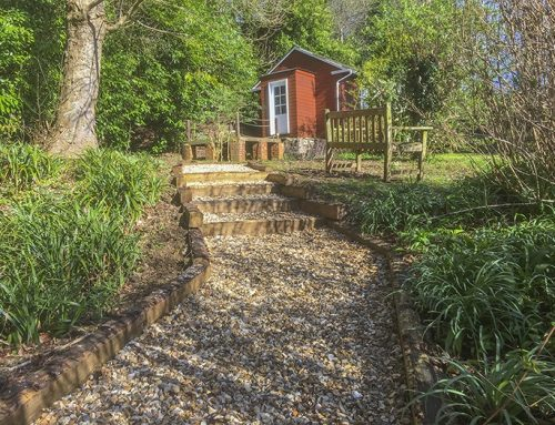 Rustic Sleepers – the must for gardens