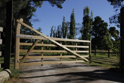 Charltons Gates in Austalia - Estate Gate