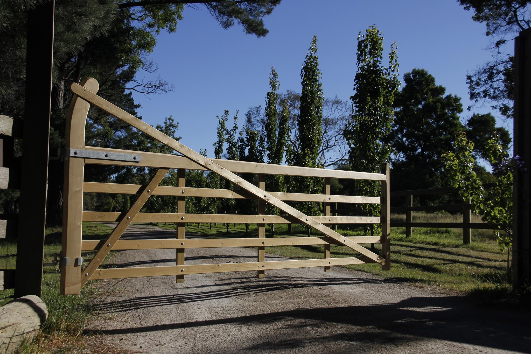 Charltons Gates in Austalia - Estate Gate