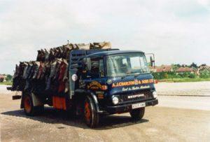 1970's lorry
