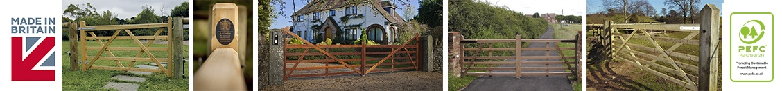 Charltons Quality 5 Bar Gates