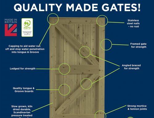 Quality made garden gates